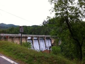 Highway 80 dam