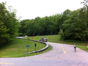 Entrance to Blue Ridge Parkway