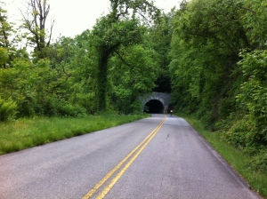 Blue Ridge Parkway tunnel