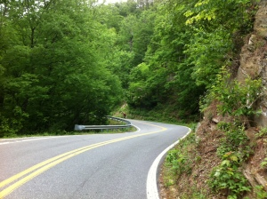Highway 80 up to the Blue Ridge Parkway