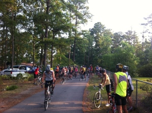 Lake Murray Ride Start