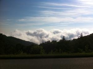 Blue Ridge Parkway scenic view