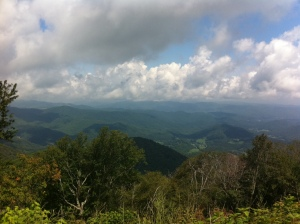 From top of Roan Mountain