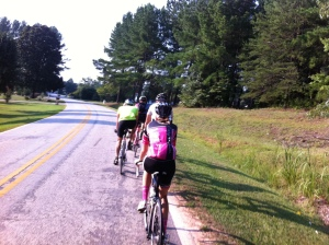 Cherokee Foothills first paceline