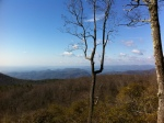 A view from the top of Sassafras Mountain