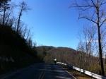 pinnacle mountain ahead