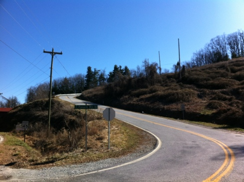 The initial climb on Pinnacle Mountain