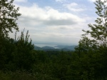 The view from Wiginton Overlook.