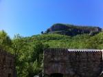 Chimney Rock from ParkEntrance