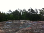 A mammoth slab of Bald Rock