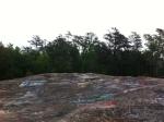A mammoth slab of Bald Rock