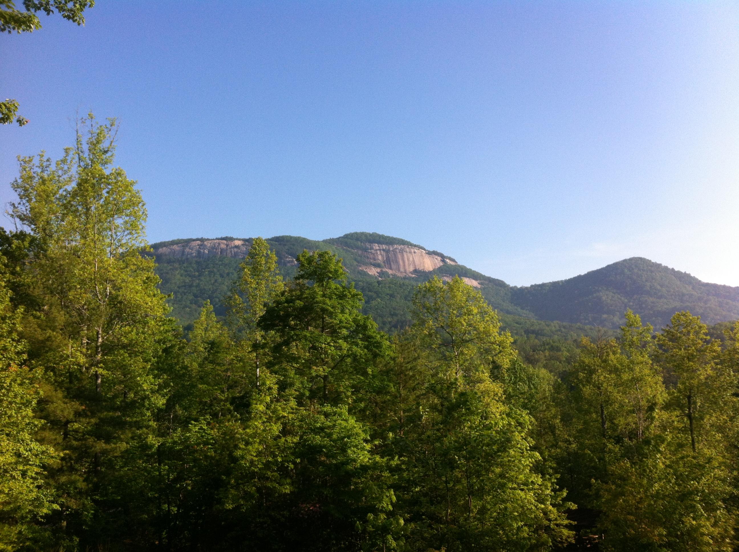 South carolina climbs for Table rock nc cabins