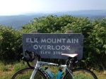 Photo op above Elk Mountain.