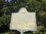 Brasstown Bald marker.