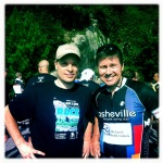Kevin Meechan and I after the ride.
