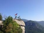 Chimney rock from below.