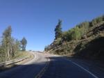 Near the summit of Battle Mountain Pass.