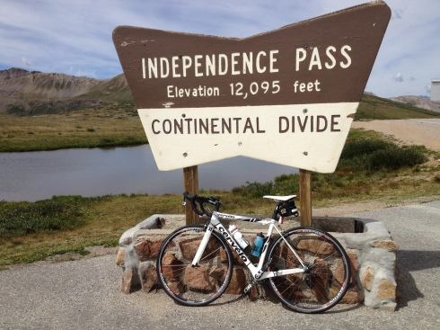 Independence Pass conquered!