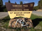 Tennessee Pass conquered.
