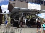 Breckenridge gondolas, which run for free in the summer.