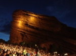 Red Rocks Amphitheater.