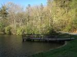 the lake dock