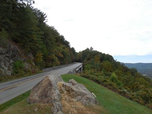 Nice bridge view from the Roanoke Mountain lookout.