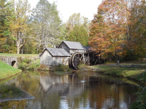 Mabry Mill lived up to the hype. Cool looking little house.