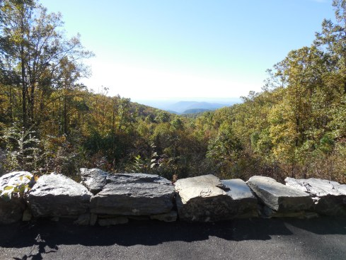 One of the early Stone Mountain views.