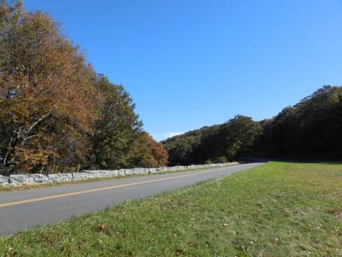 The Parkway near Doughton Park.
