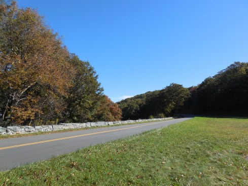 The Parkway near Doughton Park.