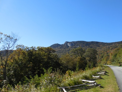 Another view of Grandfather Mountain.