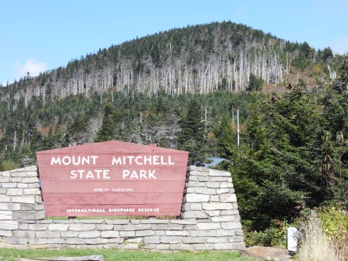 The Mitchell summit looked a lot different than the base.